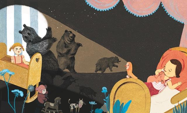 Ilustración de Natalie Waksman-Shenker para Buenas noches, monstruo
