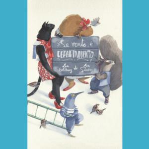 portada libro se renta departamento - editorial leetra - libro ilustrado